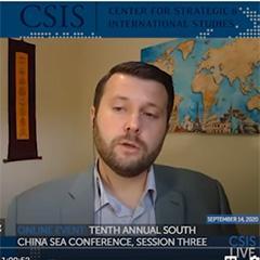 CSIS South China Sea Webinar